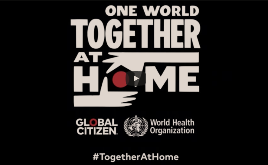 global citizen - one world together at home
